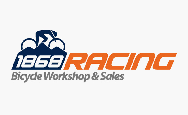 1868 Racing, Bicycle Workshop & Sales. Logo Design