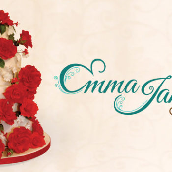 Emma James Cakes Logo Design