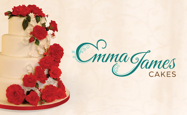 Emma James Cakes Logo Design
