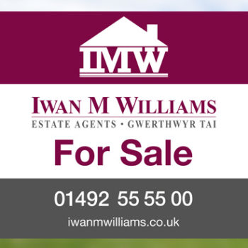 Iwan M Williams Estate Agents branding