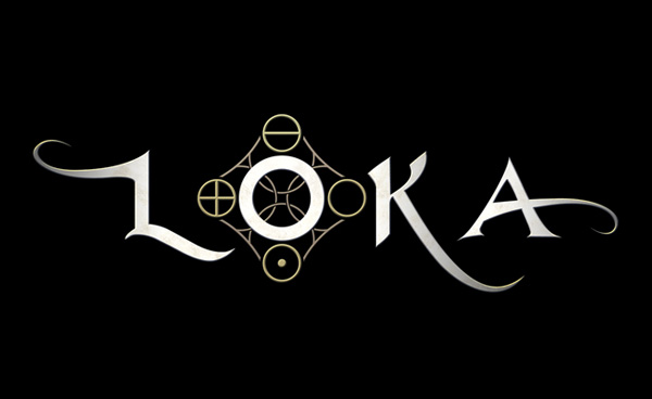 Loka Game logo design