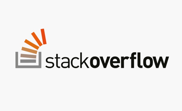 Stack Overflow logo design