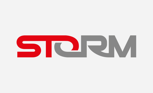 Storm logo design