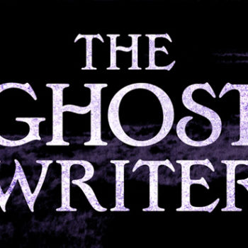The Ghost Writer book Cover Design