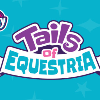 Tails of Equestria Logo design